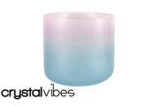 "10"" Translucent Aquanite Fusion Crystal Singing Bowl"