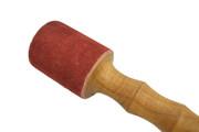 Medium Wood / Suede Himalayan Singing Bowl Wand