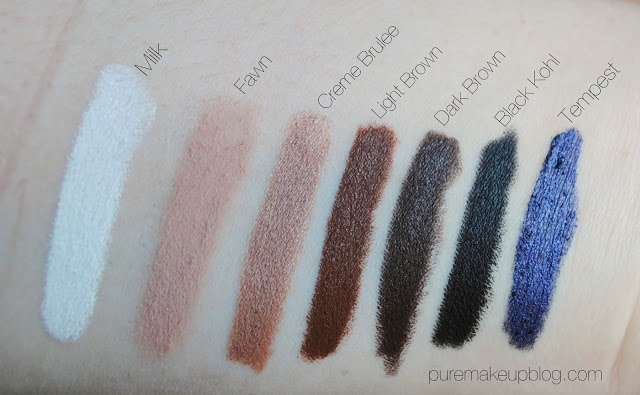 all-natural-face-diva-stix-eye-pencils-milk-fawn-creme-brulee-dark-light-brown-tempest-black-kohl-swatches.jpg