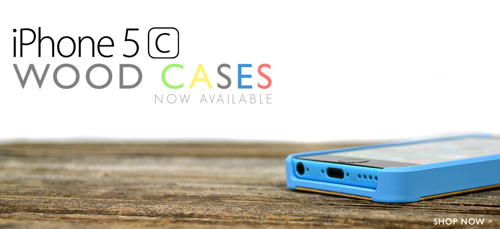 Wood iPhone 5C Case