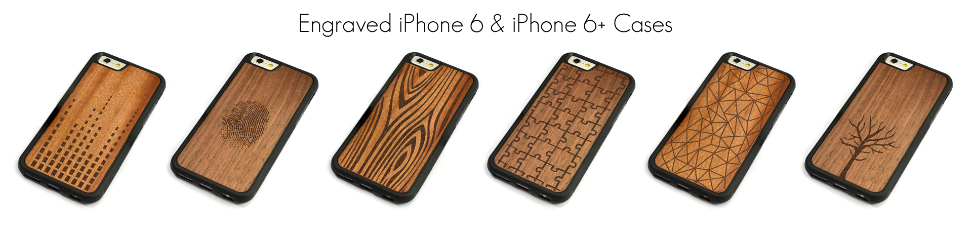 Engraved Wood iPhone 6 Cases
