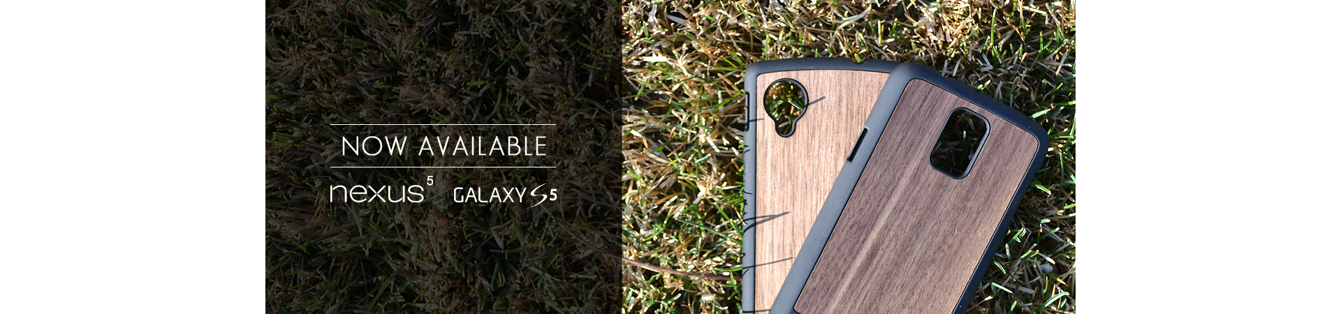 Wood Galaxy S5 & Nexus 5 Cases