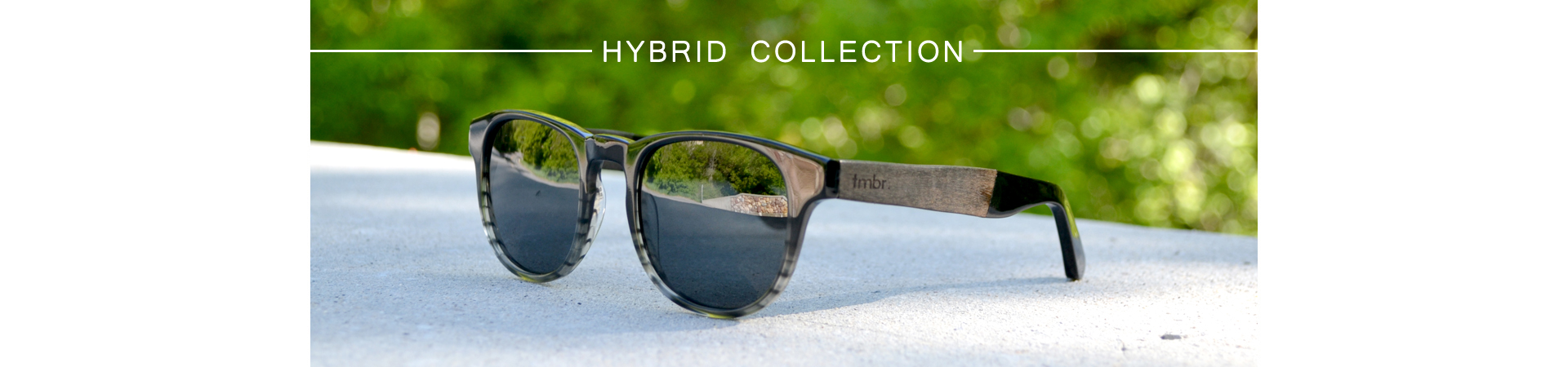 Hybrid Collection - Wood Sunglasses