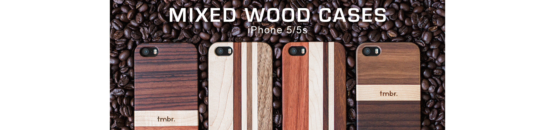 Mixed Wood iPhone 5 Cases