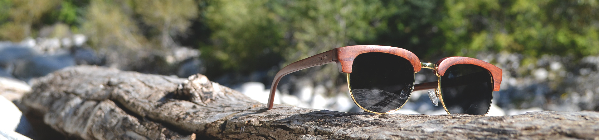 Rivet Wood Sunglasses