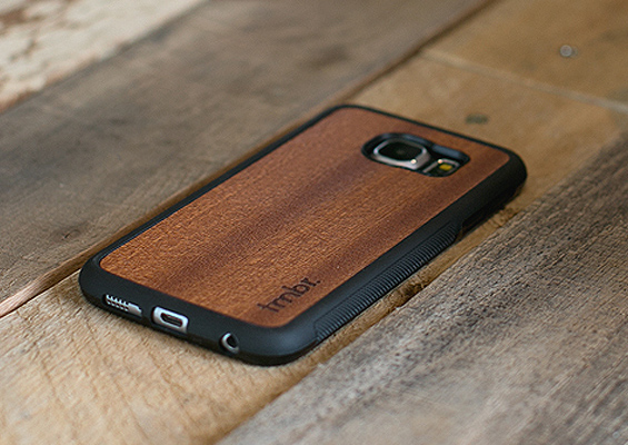 Wood Samsung Galaxy S6 Cases