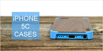 Wood iPhone 5C Cases