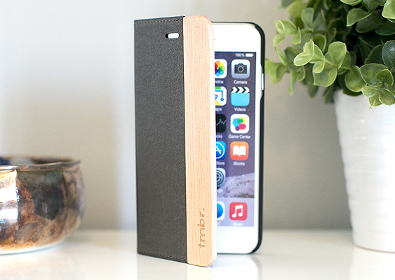 Wood iPhone 6 Wallet Case