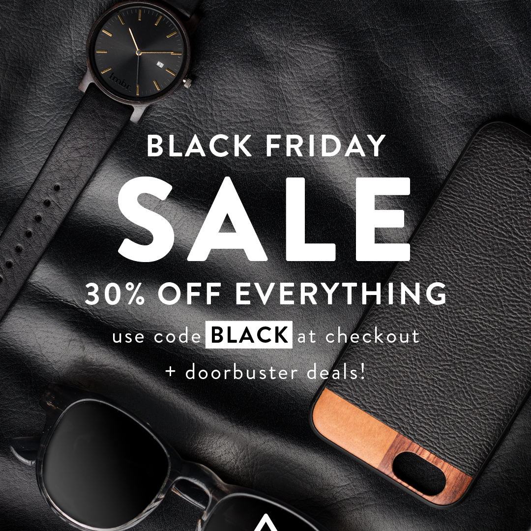 Black Friday Sale - 30% OFF Everything