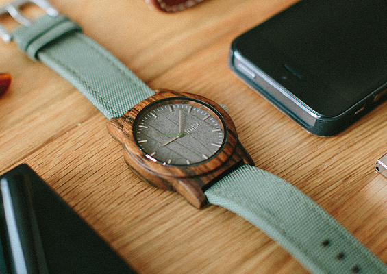 Tmbr. Mens Wood Watches