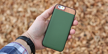 Leather Wood iPhone 6/6 Plus Cases