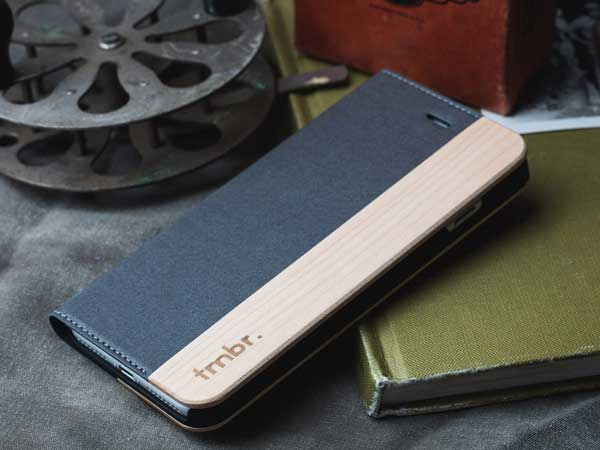 Wallet Folio Wood iPhone 7 / 8 Case