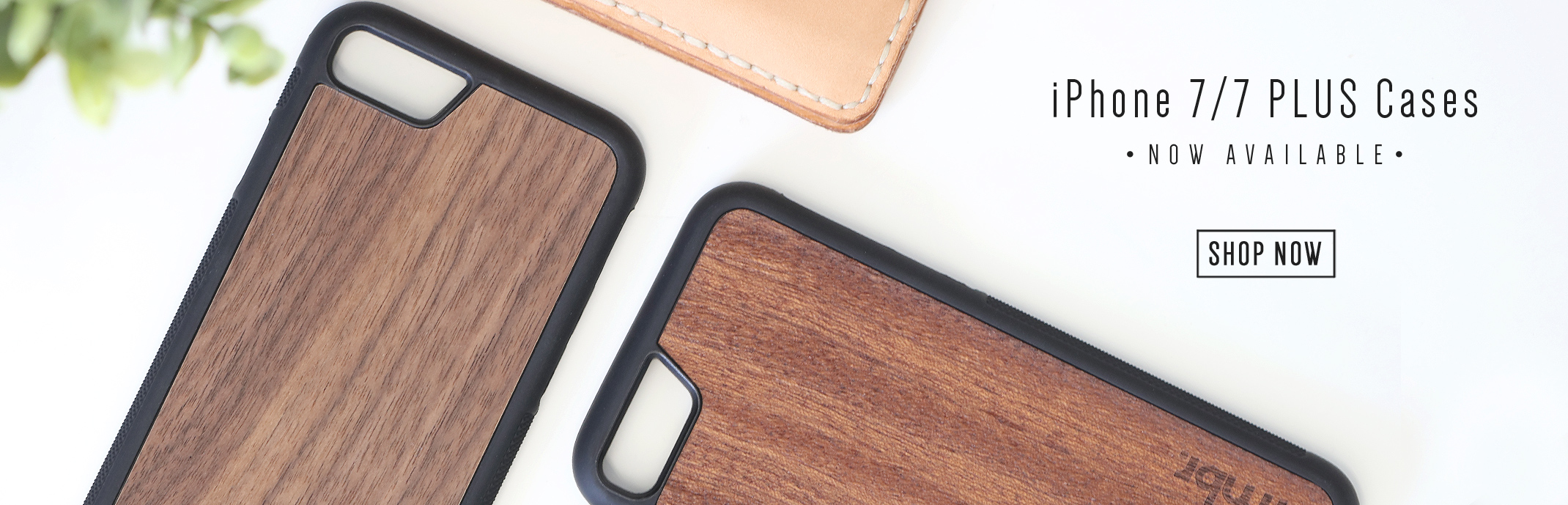 Wood iPhone 7 and iPhone 7 Plus Cases