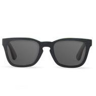 Black Recycled Wood Sunglasses
