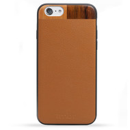 Tmbr. Tan Leather/Wood iPhone 6 Plus Case