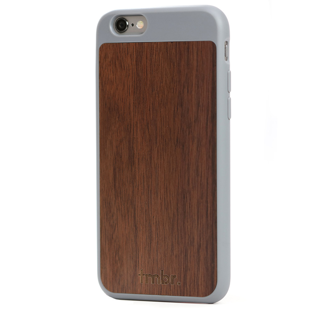 iPhone 6/6s Wood Case Grey