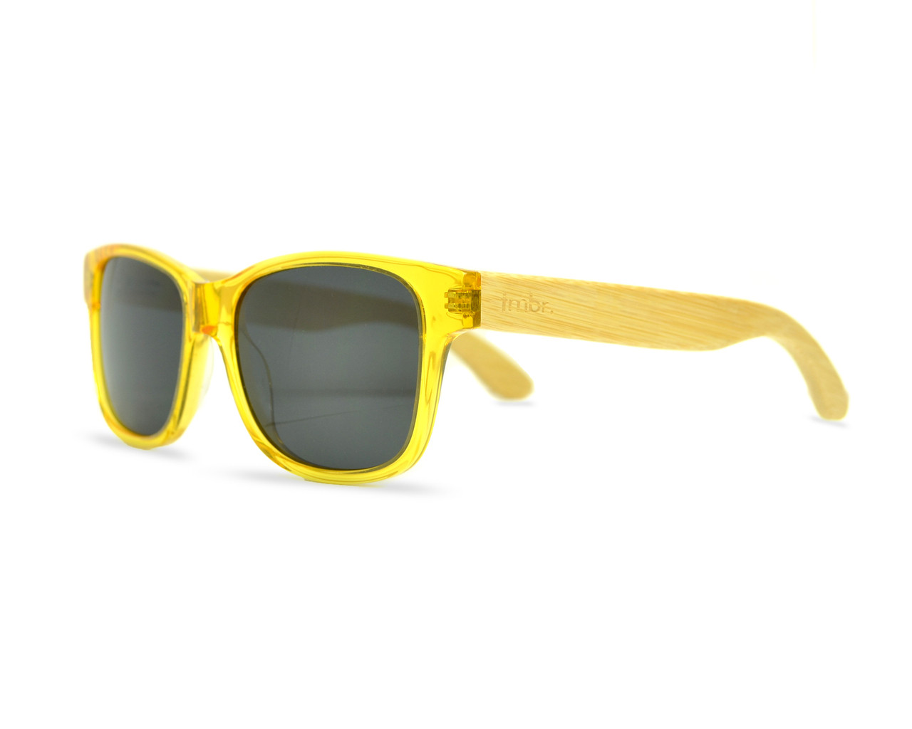 yellow wood sunglasses raw tmbr