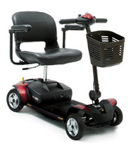 Go-Go Elite Traveler 4 Wheel Scooter by Pride Mobility