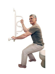 Curve Grab Bar by Stander