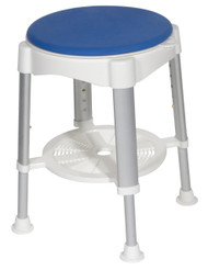 Bath Stool with Padded Rotating Seat - rtl12061