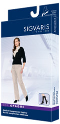 Sigvaris 841C Soft Opaque 15-20 mmHg Closed Toe Knee Highs
