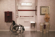 Best Bath Barrier Free Shower Chair