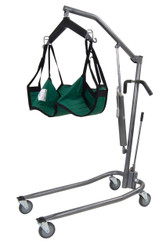 Silver Vein Hydraulic Patient Lift with Six Point Cradle - 13023sv