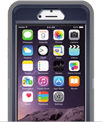 iPhone 6 Plus in Otterbox case