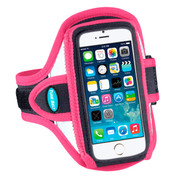 Sport Armband for iPhone SE and 5S / 5 / 5C - Reflective Pink - AB87RP