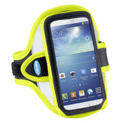 Sport Armband for Smartphones - Reflective Yellow - AB86RY