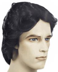 john travolta costume wig long shag hair