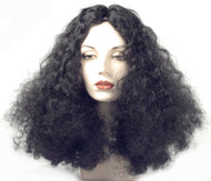 deluxe diana ross black hair wig huge big diva