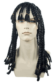 lil wayne braided hair wig costume little