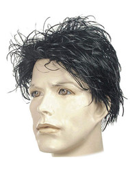 harry potter black wig messy