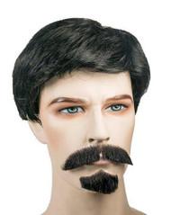 iron man robert downey jr costume wig