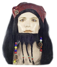 pirates of the Caribbean wig
