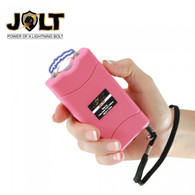 JOLT 36 Volts Mini Stun Gun Pink with Wrist Strap