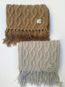 *Black Friday - Cyber Monday Special* Tommy's Folly Cable Knit Scarf