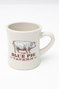 Blue Pig Coffee Mug