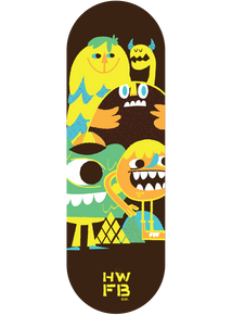 Homewood Happy Monster Graphic