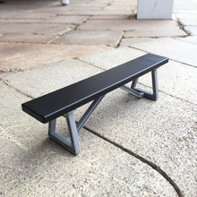 Homewood Park Bench Black (NEW!)