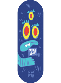 Homewood Fish Face Deck - Blue