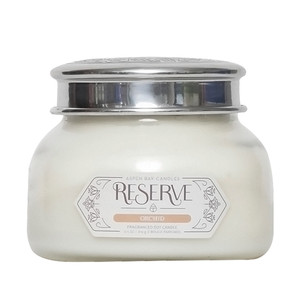 Aspen Bay Reserve Signature Jar Candle Orchid for Love, Marriage, Purity, Virility  & Romance