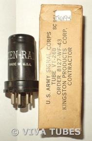 NOS NIB Ken-Rad USA 12SC7/VT-268 Metal Vacuum Tube 100+%