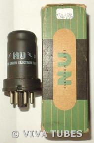 NOS NIB National Union NU USA 12SC7 Metal Vacuum Tube 100+%