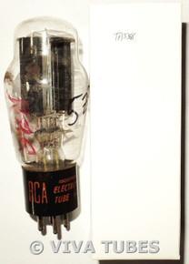 NOS RCA Radiotron USA 5Z3 Black Plate [] Get Hanging Filament Vacuum Tube 100+%