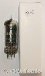 Vintage Tung-Sol USA 6AU6 [EF94] Black Shiny Plate Top [] Get Vacuum Tube 69%