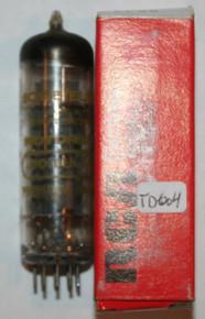 Mullard Gt. Britain 6CW5 / EL86 Gray Plate Top O Getter Vacuum Tube 6CW5 74%