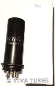 GE USA 6L6 Metal MGK, Rusty Vacuum Tube 78%