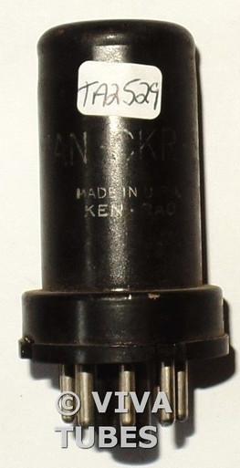 Ken-Rad USA VT-105 / JAN-CKR-6SC7 Metal Vacuum Tube 78/98%